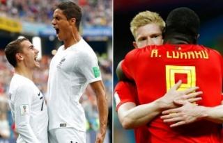 İlk finalist Fransa mı? Belçika mı?