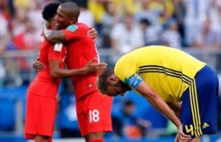 İsveç üzüldü İngiltere turladı