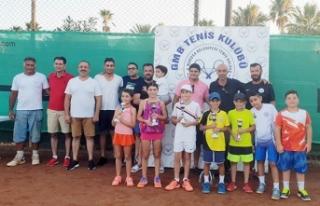 Mağusa'da tenis coşkusu yaşandı