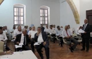 Mahmut Özçınar başkanlığa seçildi