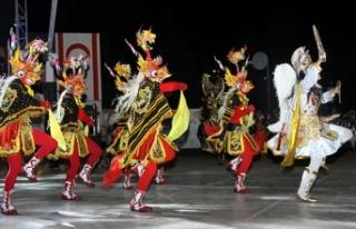Uluslararası İskele Belediyesi Halk Dansları Festivali'nde...