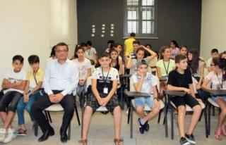 Başbakan Erhürman, 50 öğrencinin katıldığı...