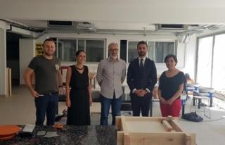 Rektör Aksoy, Arkın Yaratıcı Sanatlar ve Tasarım...