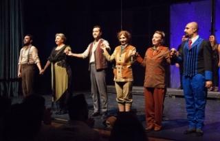 """Kıbrıs Tiyatro Festivali kapsamında """"Sherlock-Hamid""""..."""