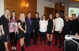 Öncü kuaförlerden Erhan Delen Lefkoşa'da seminer...