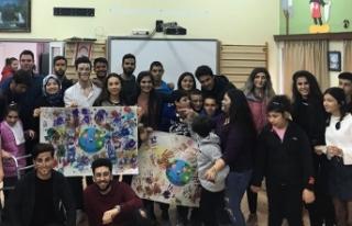 Kıbrıs İlim Üniversitesi özel çocuklarımıza...