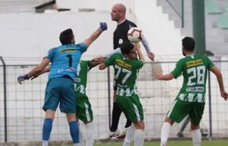 """Lefkoşa'da """"Yeşilova"""" günü 0-2"""