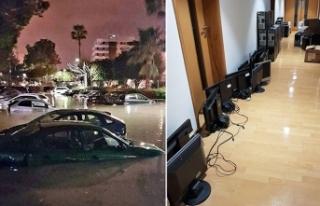 Yağışlar Güney'i de vurdu