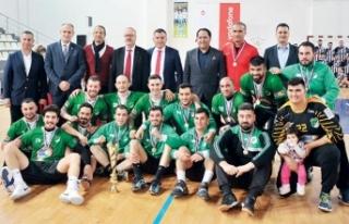 Hentbol KTSYD kupaları UKÜ ve GG'nin
