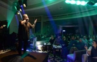 Soner Olgun, yeni yılın ilk konserinde, Letafet...