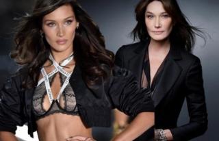 Bella Hadid ve Carla Bruni'nin şaşırtan benzerliği...