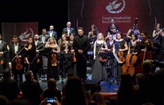 Cumhurbaşkanlığı Senfoni Orkestrası önemli eserleri...