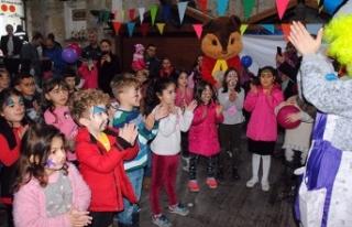 Girne Belediyesi'nin Yarıyıl Şenliği Çocuk...