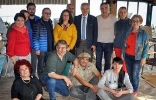 Tatlısu Ot Kültür Festivali kapsamında Sanat Çalıştayı...