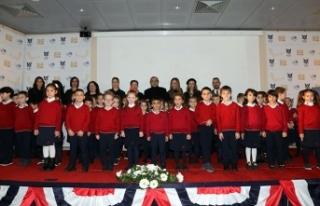 The International Prep School birinci sınıf öğrencileri...