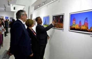 Cumhurbaşkanı Akıncı, FODER'in sergisinin açılışını...