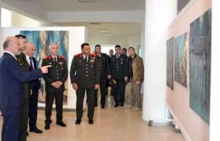 Komutanlar, Kıbrıs Modern Sanat Müzesi'ndeki...