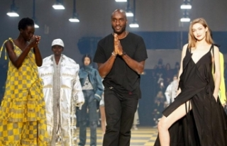 Virgil Abloh, Off-White defilesinde Gigi Hadid, Bella...