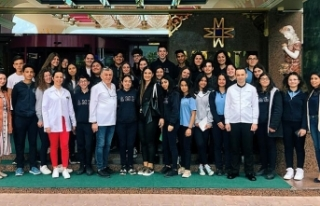 Atatürk Meslek Lisesi öğrencileri Merit Crystal...