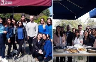 GAÜ öğrencileri SOS Çocuk Köyü yararına kermes...