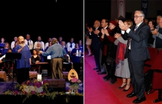 Kıbrıs Türk Müzik Sanat Derneği'nin düzenlediği...