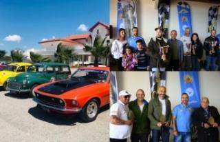 'Klasik' arabaların yarışı Salamis'te noktalandı