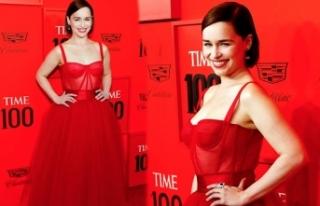 New York'ta düzenlenen Time 100 galasına ünlü...