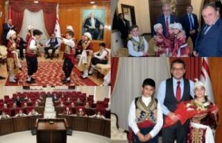 TRT 23 Nisan Çocuk Festivali'nde KKTC'yi temsil...