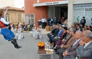 Yafa Portakal Festivali'nin açılışı zeytin...
