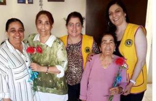 100. Yıl Mehmetçik Karpaz Lions Kulübü hem annelerin...