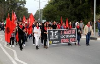 1 Mayıs İşçi Bayramı Kuğulu Park ve ara bölgedeki...