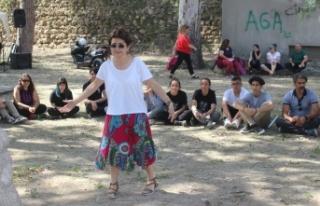 Çağlayan Parkı'nda 19 Mayıs Atatürk'ü Anma...
