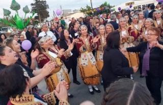 Yoğun katılımla başlayan Enginar Festivali, renkli...