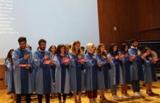 LAÜ Sağlık Fakültesi Mezunları için yemin töreni...