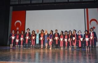 YDÜ Sağlık Hizmetleri Meslek Yüksekokulu mezuniyet...