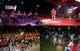11 Meşale Festivali, muhteşem dans gösterileri...