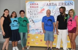 Arda Erkan için her yıl düzenlenen Kite Surf Etkinliği'nin...