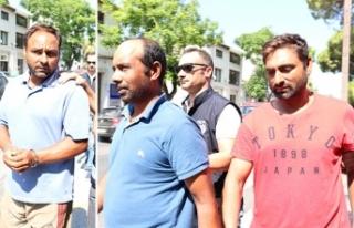 İki zanlı 8 gün daha tutuklu