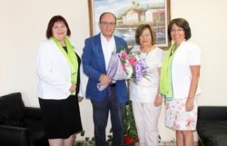 Lefkoşa Başkent Lions Kulübü yöneticileri Basın...