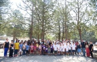 LTB yaz kurslarına katılan gençleri, Taşkent Doğa...