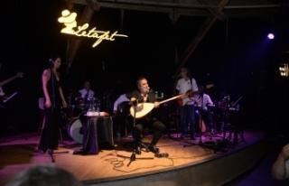 Usta sanatçı Soner Olgun, Merit Park Letafet Bar'da...