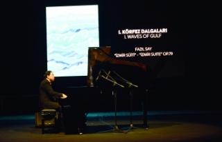 Dünyaca ünlü piyanist ve besteci Fazıl Say, Girne'de...