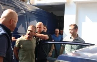 Girne'de yakalandı