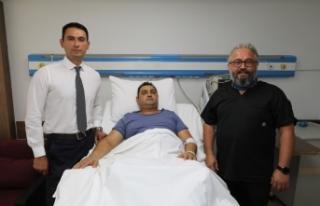 Türk hekimlerden başarılı operasyon