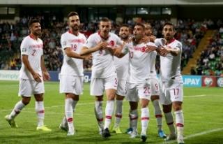 Türkiye dört 4'lük 4-0