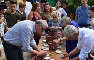 Girne Belediyesi tarafından düzenlenen Zeytin Festivali,...