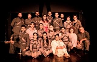 """Kıbrıs Türk Devlet Tiyatroları """"Woyzeck"""" oyununun..."""