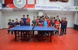 Minikler turnuvası yapıldı