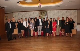 TED Kuzey Kıbrıs yönetici ve öğretmenleri Merit...
