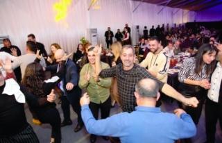 Alsancak Belediyesi'nin 'Yeni yıl' partisi...
